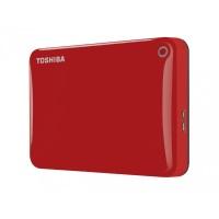 Zunanji HDD Toshiba CANVIO CONNECT II Red
