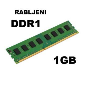 DDR1 do 1GB - rabljeni