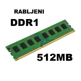 DDR1 do 512MB - rabljeni
