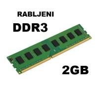 DDR3 2GB - rabljeni