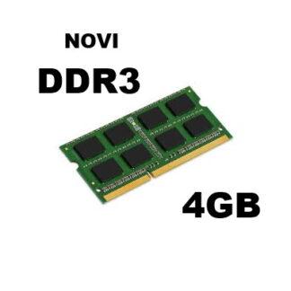 DDR3 4GB - SODIMM - novi
